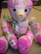 Teddy Bear crazy quilt