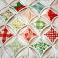 Cathedral Window quilting - 1 hour