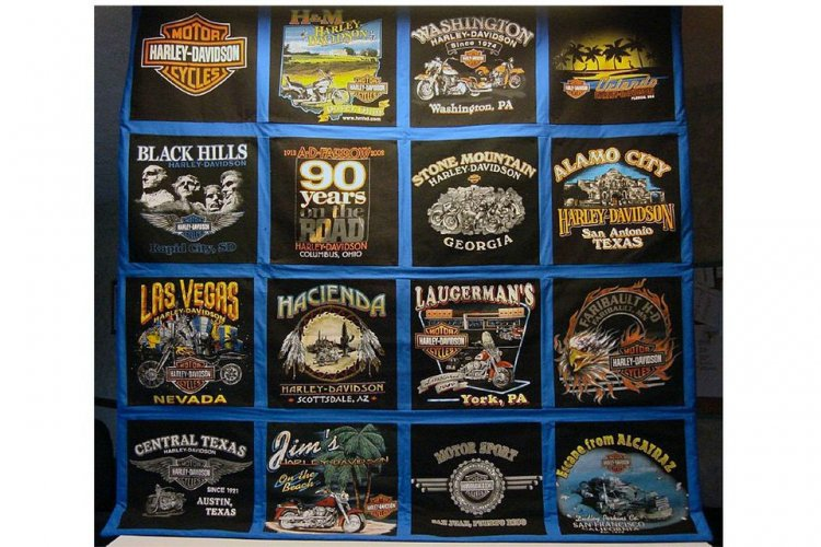 Tee Shirt quilt class - Click Image to Close