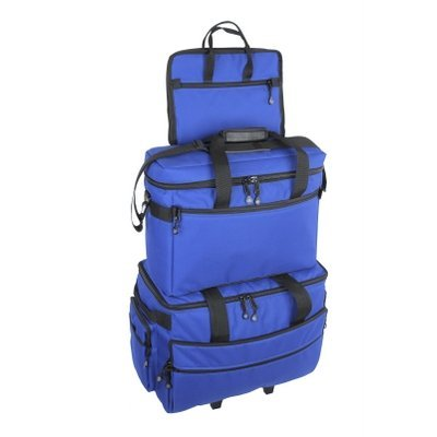BlueFig 3 bag Economy combo in Royal Blue-TB19+CB18+NB