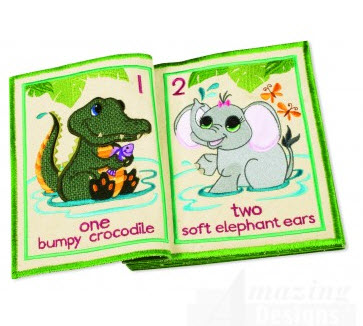 critters embroidery book from Amazing Designs