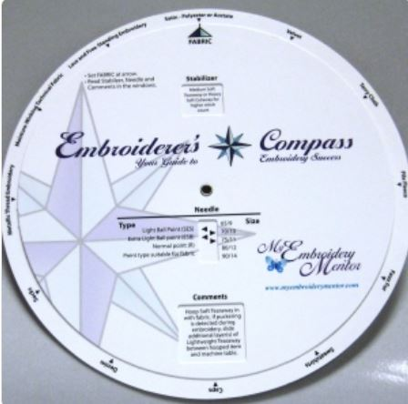 Embroidery Compass - Click Image to Close